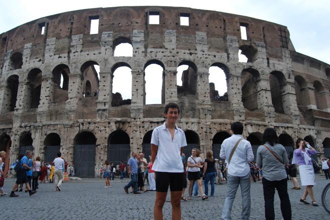 Ronan at Colliseum