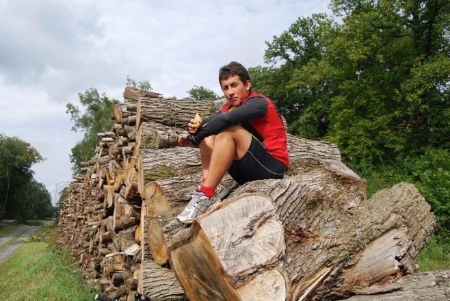 Ronan on timber 2