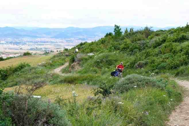 Climbing Alto del Perdon