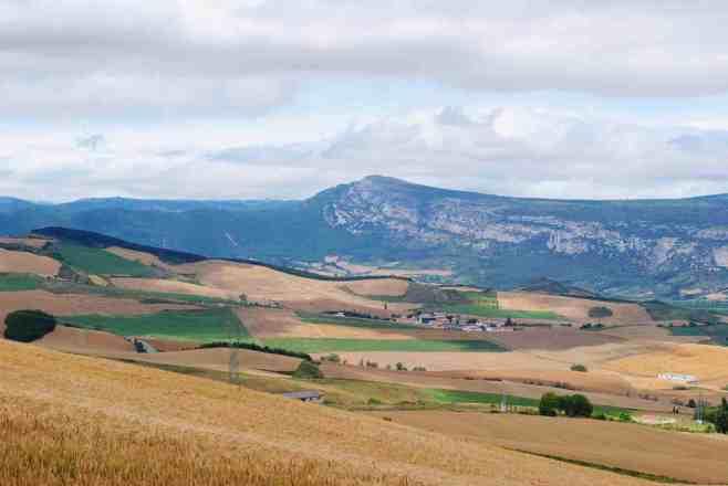 Vista from Alto del Perdon