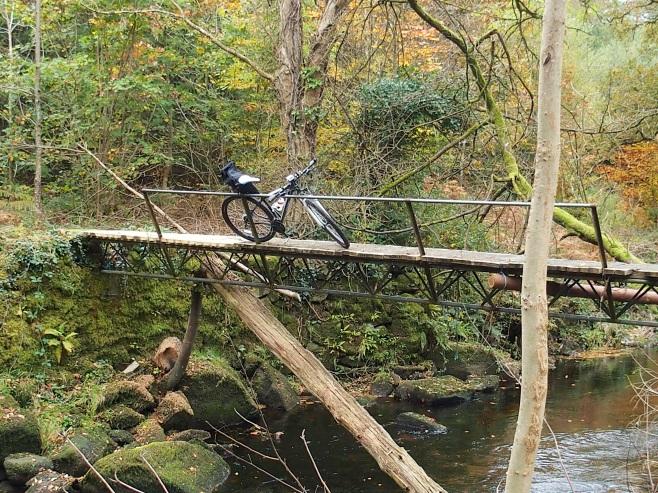 Bridge across the Mountain River