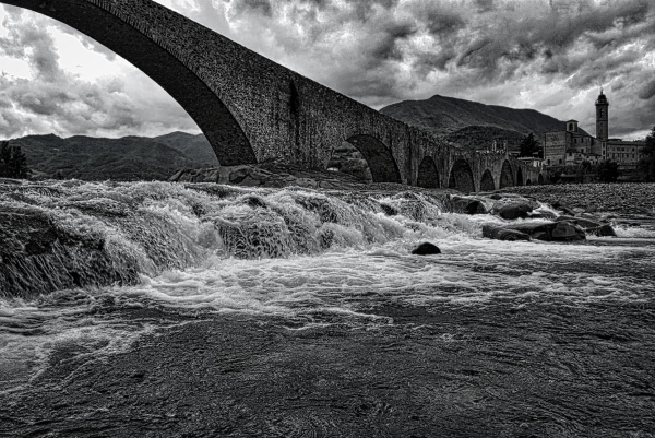 The bridge at Bobbio