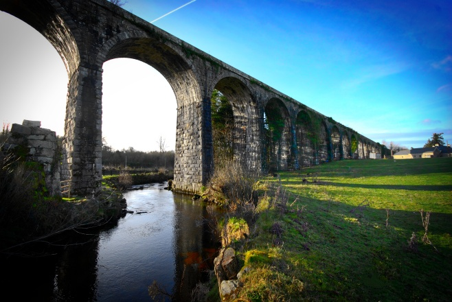 Viaduct over Mountain River at Borris