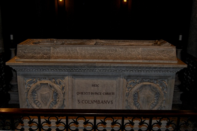 Tomb of Columbanus, Bobbio, Italy