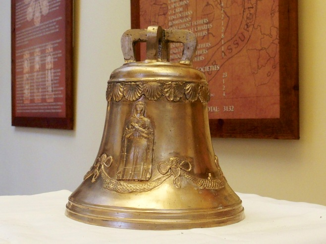 The Bell of Columbanus visiting Carlow College