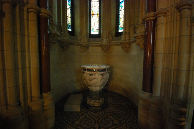 Baptismal Font, Adelaide Memorial Church