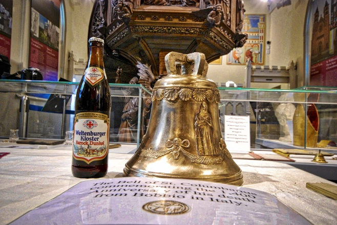 Weltenburg Abbey brewery is the oldest in the world, founded in 1050. by the Irish Monks of Columbanus.