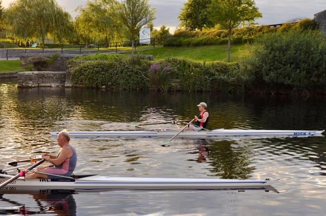 Rowers on the Barrow