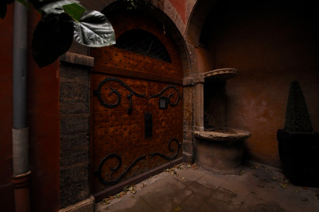 Traboule Courtyard