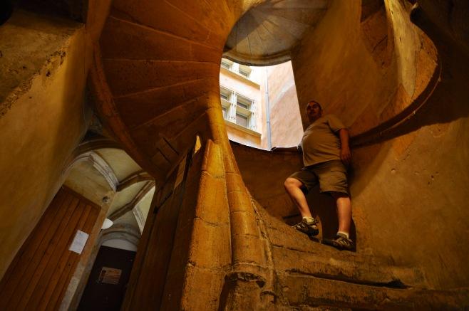 Traboule stairway