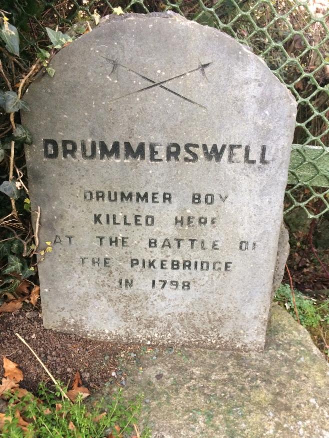Stone marking Drumerswell