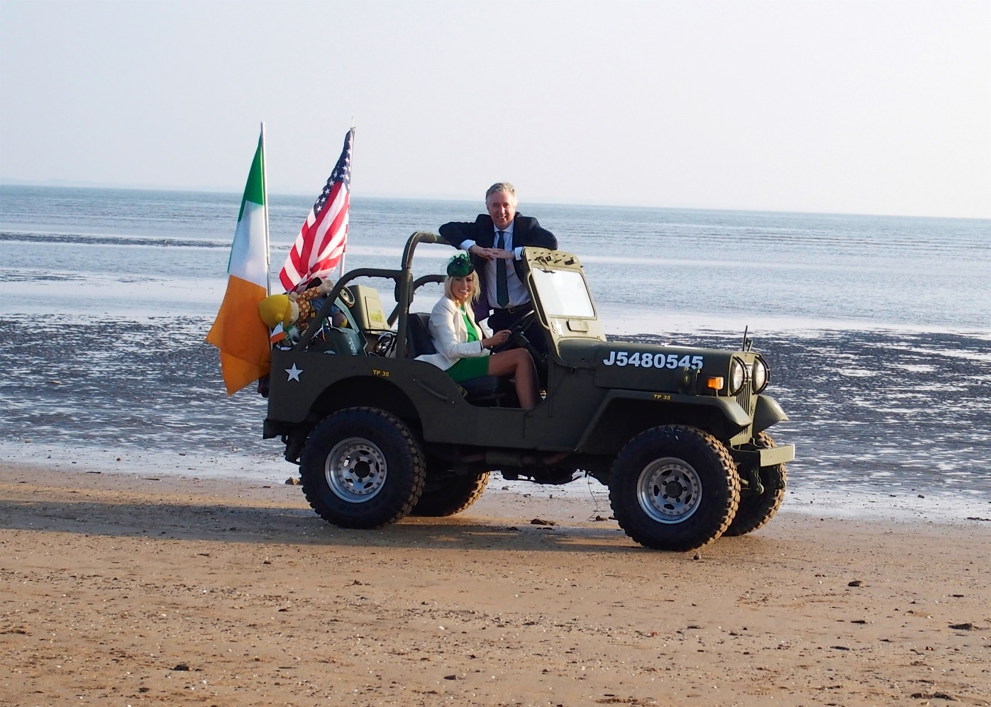 John Delaney and Emma English St. Patrick's Day parade, Duncannon, County Wexford